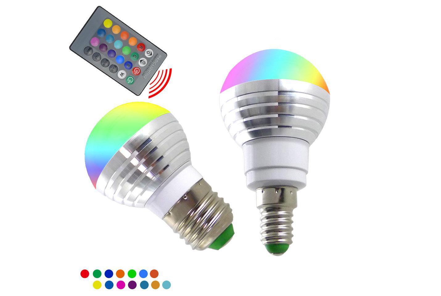 Gekleurde RGB ledlampen   ActievandeDag
