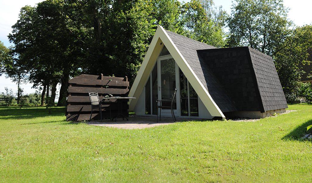 Luxe hotelhuisje in Groningen