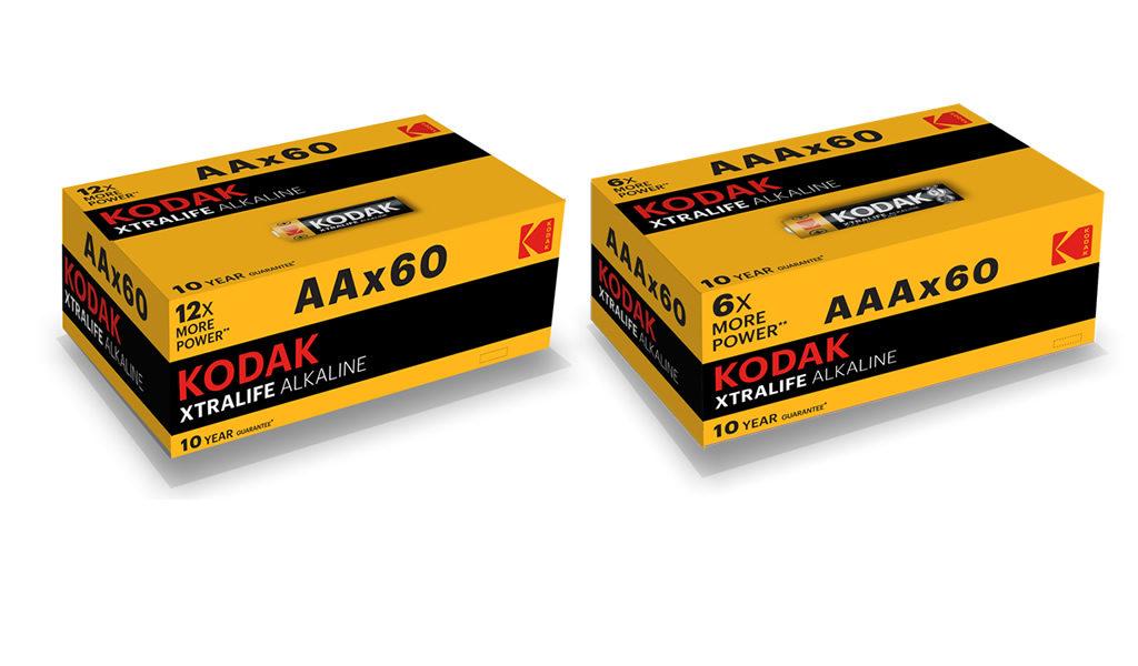 Korting 60 AA óf AAA batterijen
