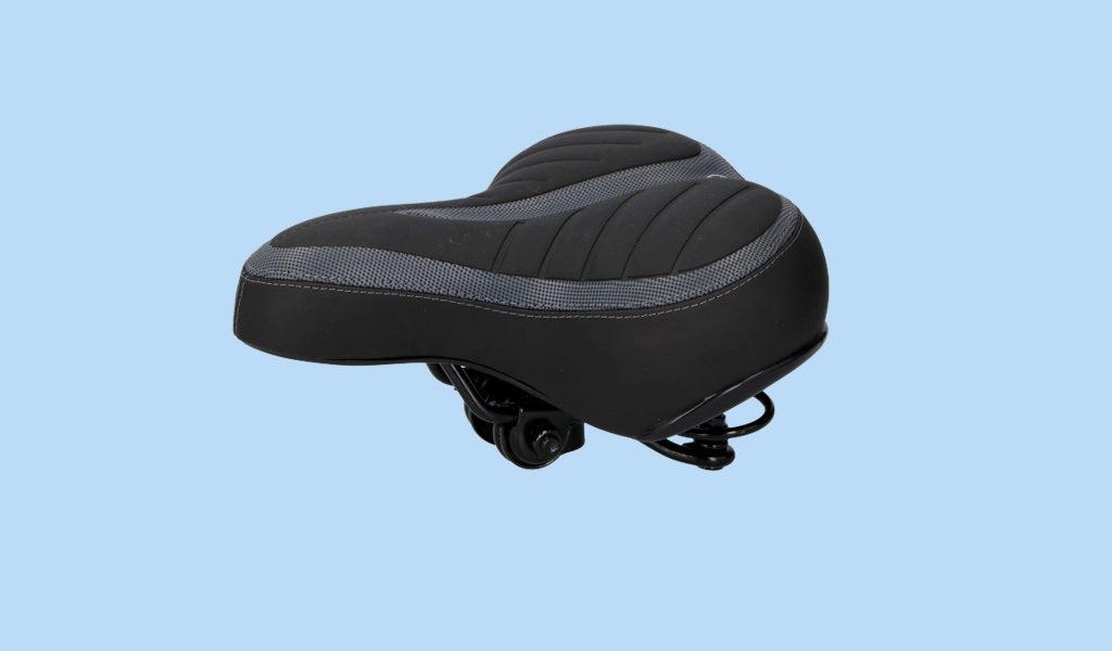 Korting Dunlop gel fietszadel