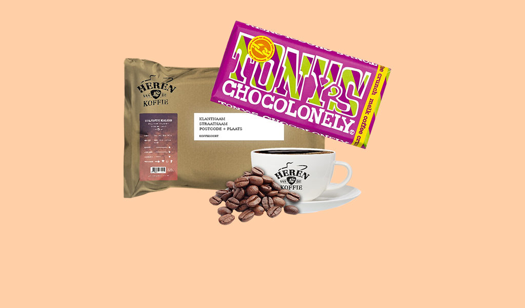 Korting Slowroast koffie plus Tony s Chocolonely
