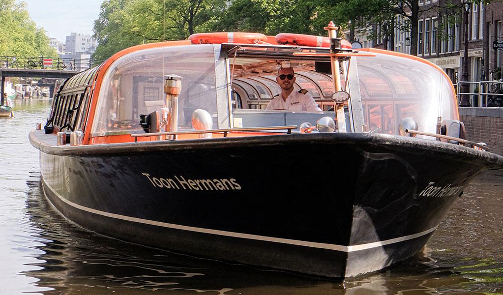 Rondvaart door Amsterdam