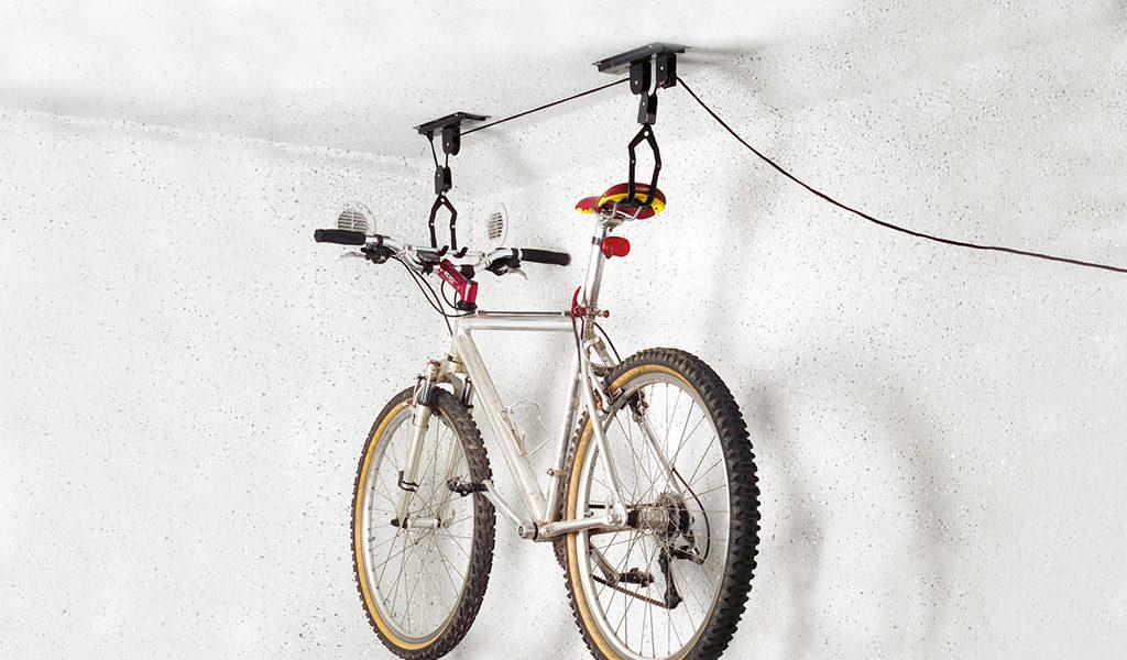 Korting Plafond fiets lift