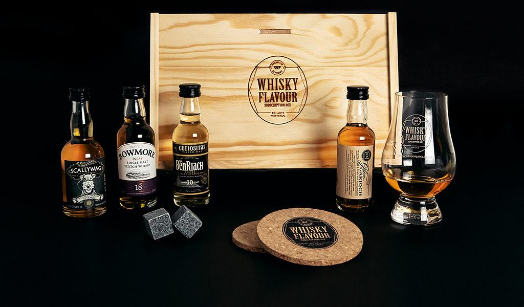 Compleet whisky pakket