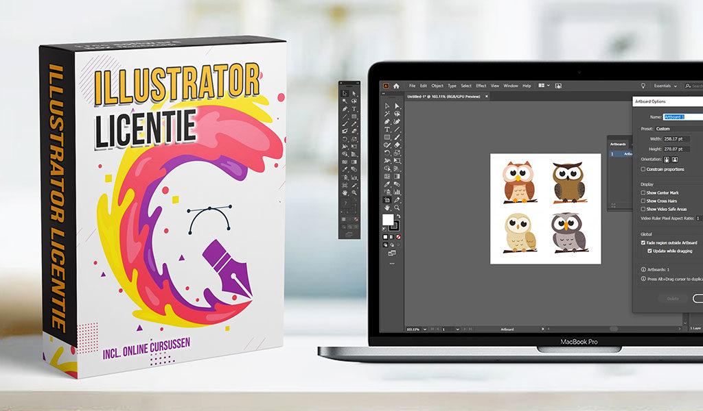 Licentie Adobe Illustrator
