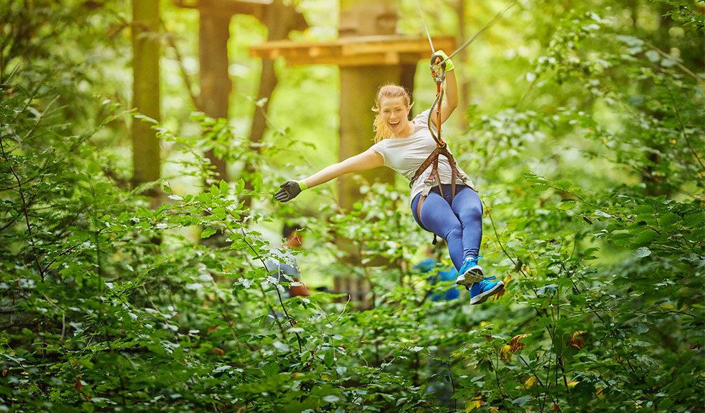 Klimpark SpaForest in België