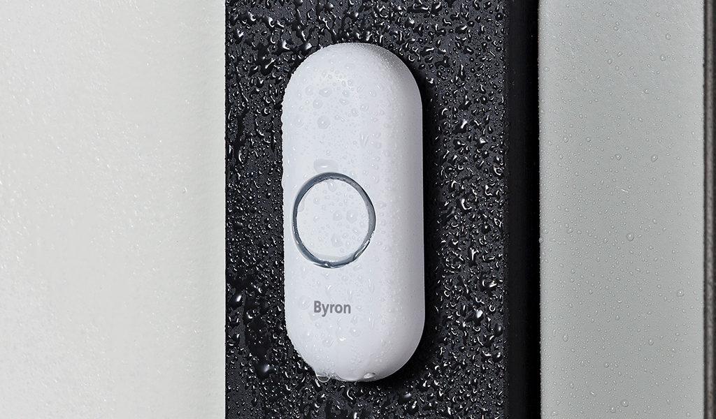 Draadloze plug-in deurbel van Byron