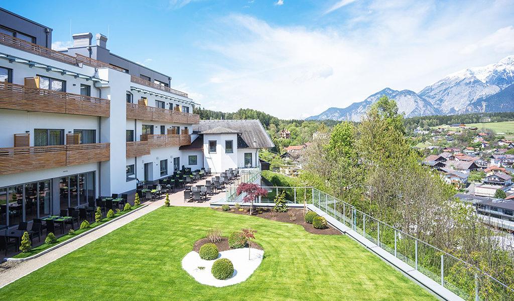 Luxe hotel bij Innsbruck
