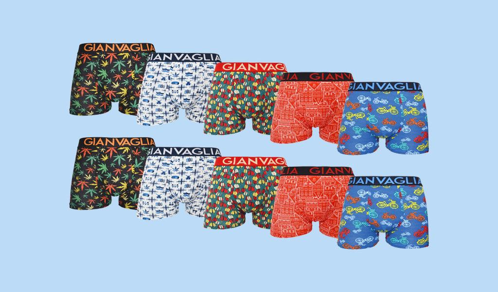 10-pack Gianvaglia boxershorts