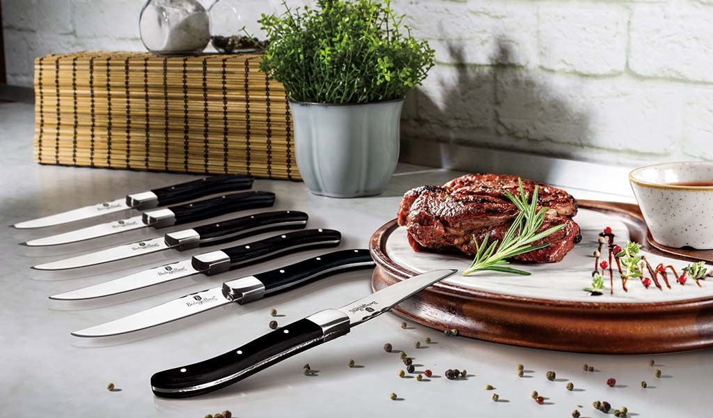 Set van 6 steakmessen