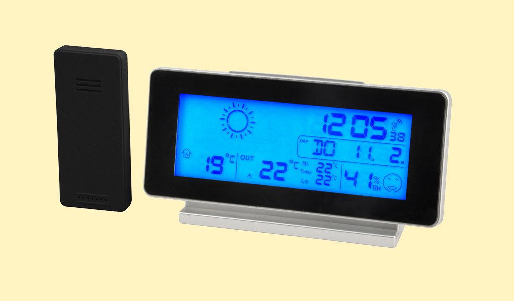 Korting Draadloos weerstation met LCD scherm