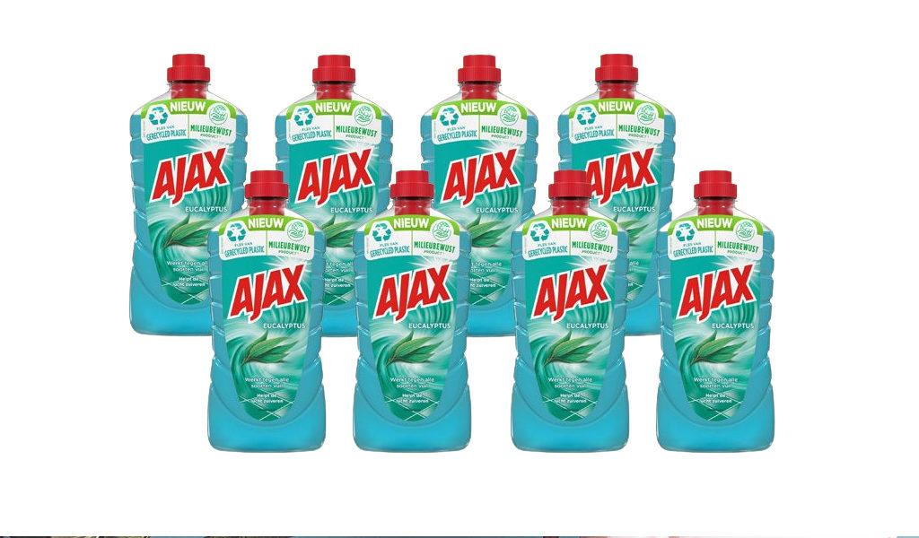 8 flessen Ajax allesreiniger